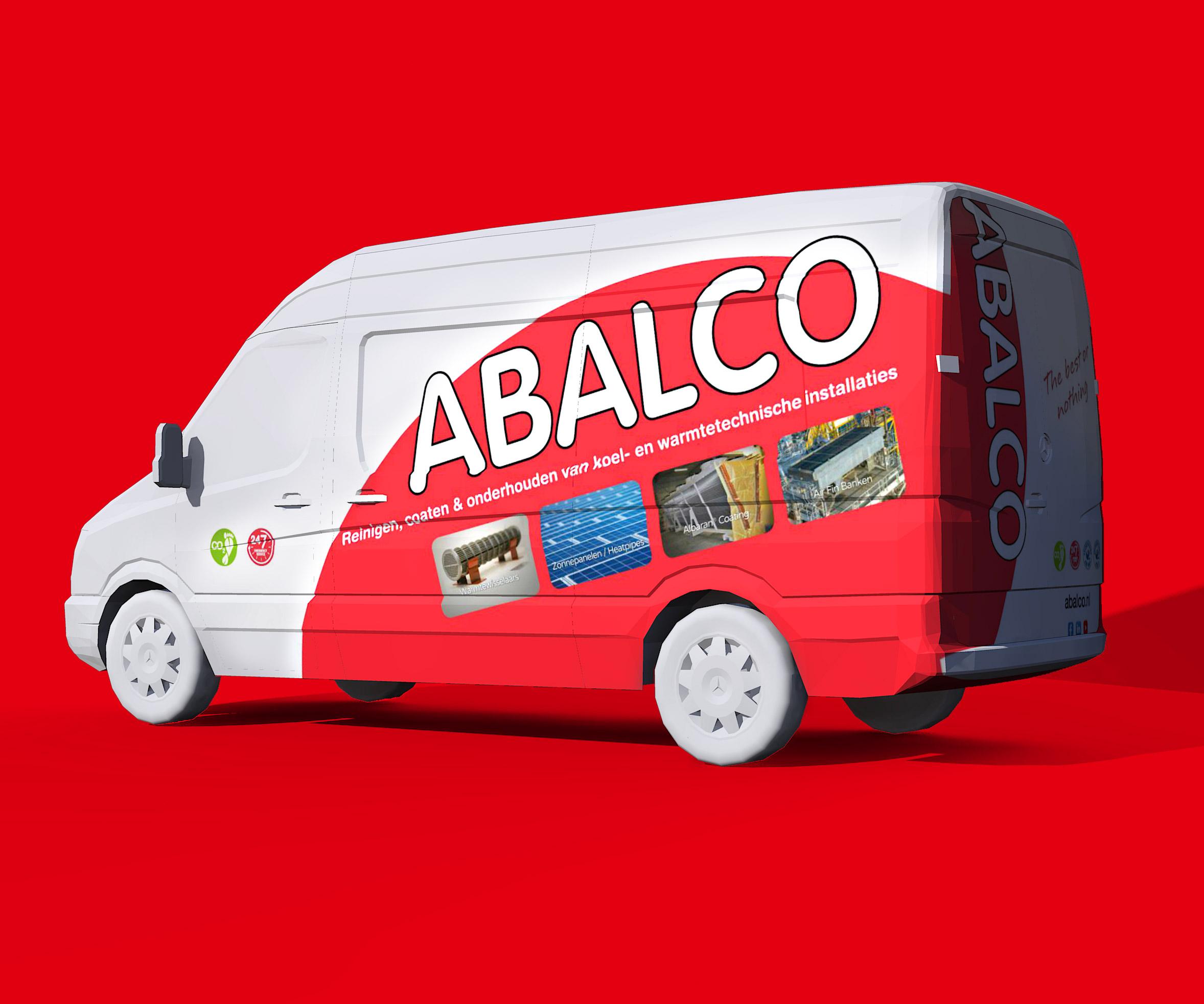 Abalco bestickering bus