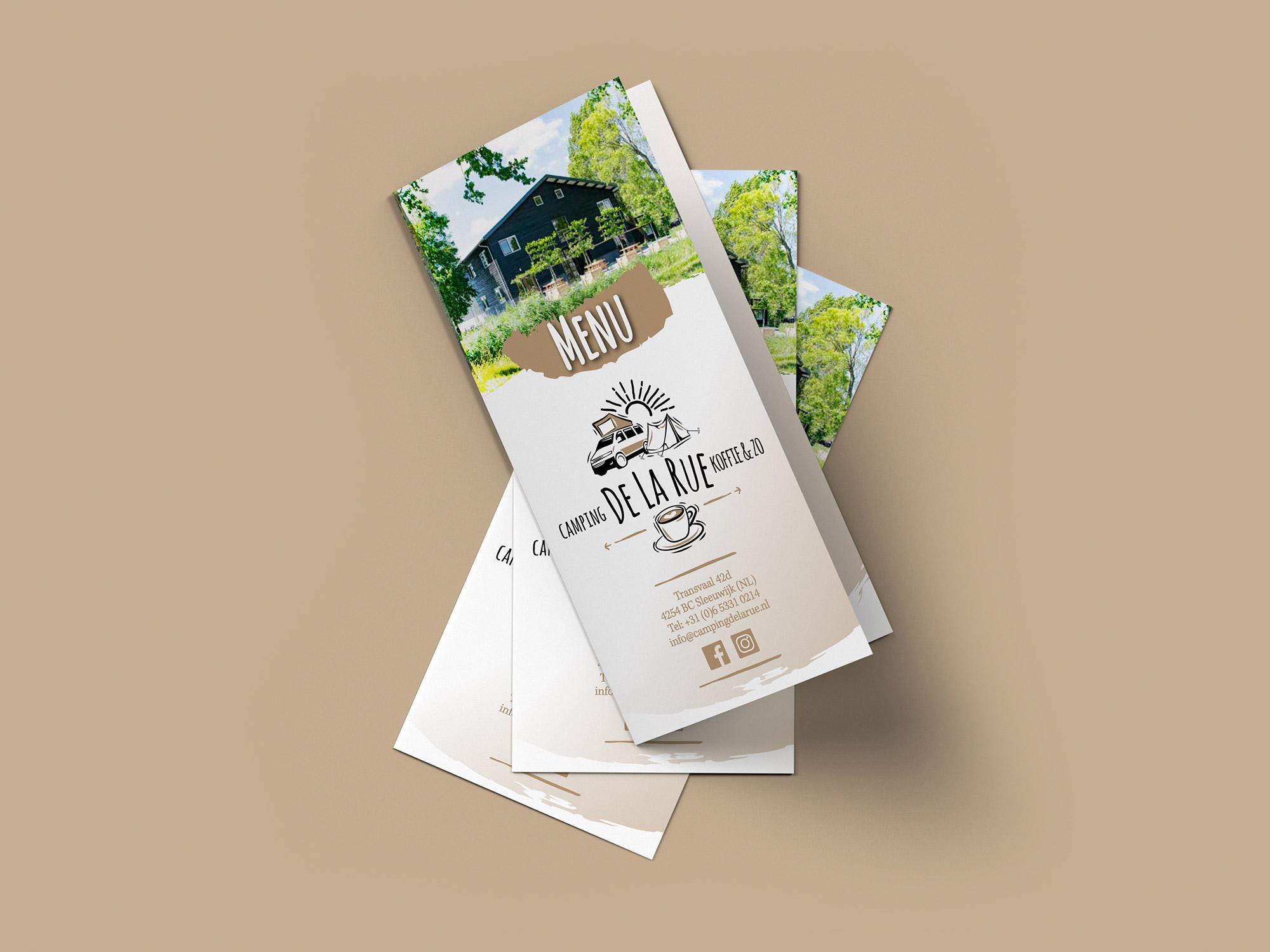 De La Rue menukaarten