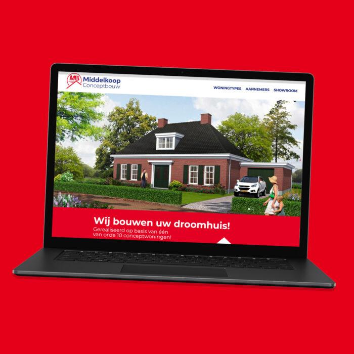 Middelkoop Conceptbouw website