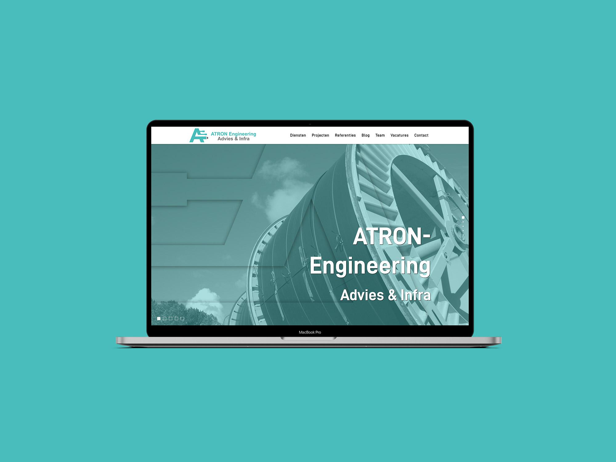 Atron Engineering website