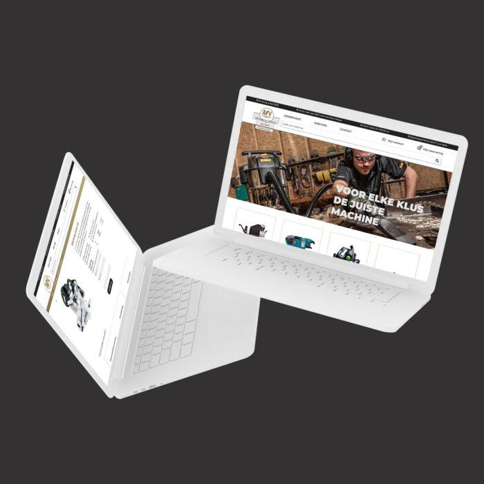 Middelkoop Verhuur website